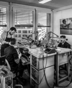 L'Atelier de Benoit - Création de Haute Joaillerie - Atelier Genève